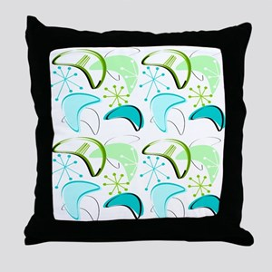 Atomic Era Inspired Throw Pillow